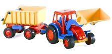 Wader Basics Traktor mit Frontschaufel und Kippanhänger