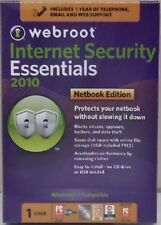 Webroot Internet Security Essentials 2010 Netbook Edition 1 User