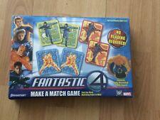 Sealed Pressman #4529 Marvel Fantastic Four Make A Match Kids Game Thing Figure!