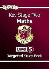 Very Good, KS2 Maths Study Book: Level 5 - for SATS until 2015 only, CGP Books,