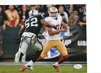Khalil Mack Oakland Raiders Signed 8x10 Photo JSA
