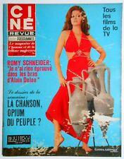 ►CINE REVUE 20/1969-JOHNNY HALLYDAY-SYLVIE VARTAN-SHARON TATE-ROMY SCHNEIDER...