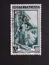 REPUBBLICA 1955 ITALIA AL LAVORO LIRE 65 STELLE USATO ..