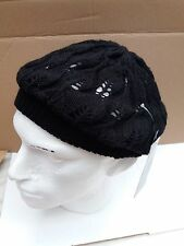 Donna Morbido Berretto/Cappello Beanie realizzati in morbido 100% acrilico-Nero