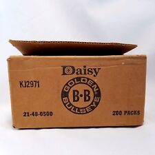 Daisy Heddon Golden Eye BB Ammo Logo Empty Shipping Box Rogers AR