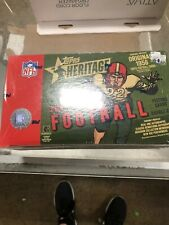 2001 TOPPS HERITAGE FOOTBALL UNOPENED BOX  FACTORY SEALED  BREES?