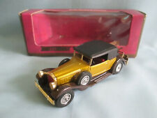 Matchbox Models of Yesteryear Y15-2 1930 Packard Victoria Car Gold Y15