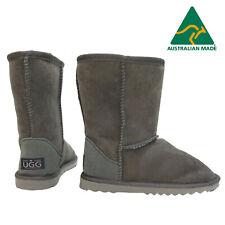 Australian Made UGG Boots - Genuine Merino Sheepskin - Classic Short - Grey