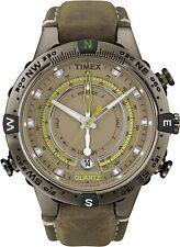 TIMEX MEN'S Tide Temp Compass INDIGLO INTELLIGENT QUARTZ WATCH T2N739