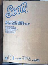 Scottfold Towels 01980 25x175=4375
