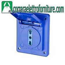 Scame 5704071 presa da incasso 10-16A per quadro BLOCK IP54
