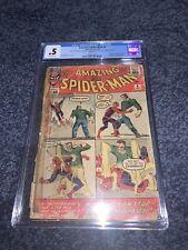 Amazing Spider-Man #4 CGC 0.5 1963 1ST Appearance Of Sandman Marvel