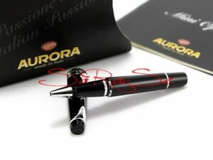 Aurora Optima Rollerball Pen Fineliner Platin Line Neu