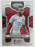 2018 Panini Prizm World Cup Raheem Sterling Mojo Prizm Card