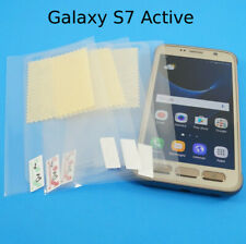 Clear PET Plastic Screen Protector For Galaxy S7 Active  Guard Film SHIPS FAST