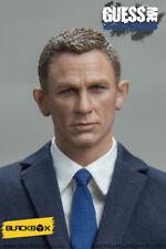 "Caja negra figura 12"" 1/6 James Bond 007 Daniel Craig Azul Traje para DRAGON DID"