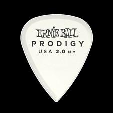 Ernie Ball 2.0mm White Standard Prodigy Picks 6-Pack