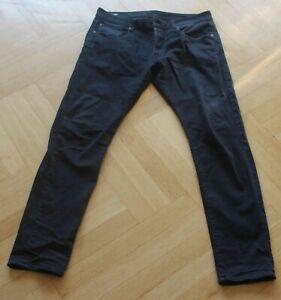 Hose, G-Star Raw 3301, W36, L34, schwarz, Jeans, sehr guter Zustand, Topqualitae