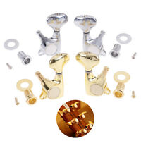1Pcs Gold Fish tail Buttons 5 String Bass Tuning Pegs Tuners Machine HeadsTRFR
