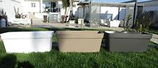 Fioriera moderna rettangolare vasi larghezze di 60 - 80 - 100 cm Made in Italy!