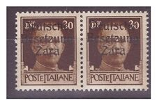 ZARA  1943  -  30  CENTESIMI -  COPPIA 2 TIPI    NUOVO **