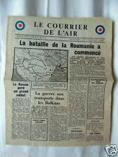 TRACT 2ème GM LE COURRIER DE L'AIR  20 AVRIL 1944 F.47 RAF / PLONGEURS ITALIE