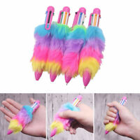 New Ballpoint Pen Colorful Plush Writing School Office Stationery Student Gift