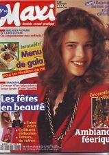 maxi   N° 266 - decembre 1991