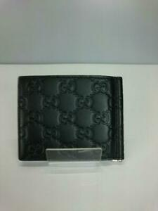 Gucci  Leather 170580 Cwc1N Shima Leather Black Fashion Card case From Japan