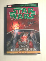 Star Wars THE NEW REPUBLIC VOL 2 LEGENDS Epic Collection Graphic Novel TPB NEW
