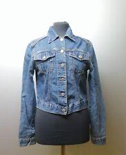 Rifle   giacca giubbino jeans donna Tg. M   woman's denim jacket size M