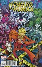 Howard the Human #1 Manga Variant Comic Book 2015 Secret Wars - Marvel
