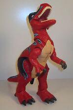 """2004 Roaring Tyrannosaurus Rex T-Rex 12"""" Mattel Imaginext Dinosaur Action Figure"""