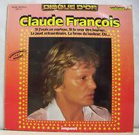 """33 tours Claude FRANCOIS Vinyle LP 12"""" DISQUE D'OR Vol.2 - IMPACT 6886145"""