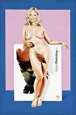 "Mel Ramos - ""Photoshop CS"" - Emaille - 2009"