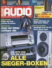 Audio 8/01 Marti Logan Odyssey, MBL 1611 D, Krell KAV-300 IL+2250 u.v.m.