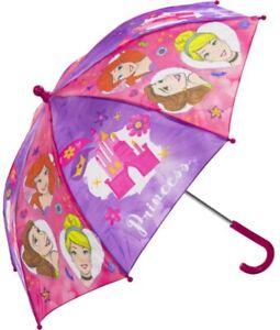 DISNEY PRINCESSES GIRLS KIDS CHILDREN'S UMBRELLA IDEAL GIFT PRESENT IDEAS