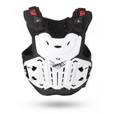 NEW LEATT 4.5 CHEST PROTECTOR ADULT LEVEL 2  MX ENDURO BODY CHEST ARMOUR WHITE