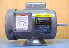 BALDOR/RELIANCE L3501 .33hp single phase 1725rpm FR. 56 TEFC electric motor