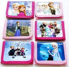 1 PC Kids Girls Coin Purse Wallet Billfold Moneybag Disney Frozen Child's Gift