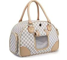 Wopet Fashion Pet Dog Carrier Pu Leather Dog Carriers Luxury Cat Travel Carrying