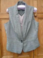 V Neck Checked NEXT Waistcoats for Women