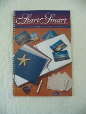 Creative Memories Smart Start Idea Book  3 hole punched spiral bound index cards