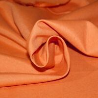 Tessuto Cotone al Metro Tinta Unita Arancione h 280 cm Tappezzeria Tende SARANI