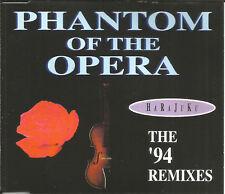 HARAJUKU Phantom of the Opera 4TRX w/ RARE MIXES CD single USA SELLER SEALED