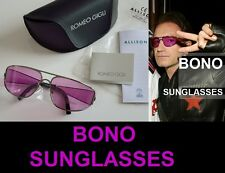 U2 BONO sunglasses NEW Romeo Gigli Elevation era CELEBRITY lunettes Biker