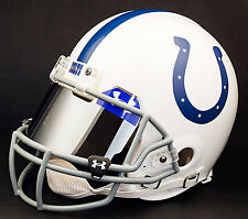 Indianapolis Colts Nfl Authentic Gameday Football Helmet w/ Mirror Eye Shield