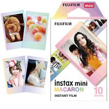 Fujifilm Mini Instax 10 Sheets Macaroon Film For Fuji Instant 8 9 90 Camera SP-2