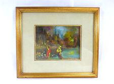 Originale Immagine Dipinto a 1900 firmato Quadro a olio