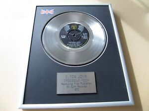 ELTON JOHN Crocodile Rock PLATINUM PRESENTATION DISC